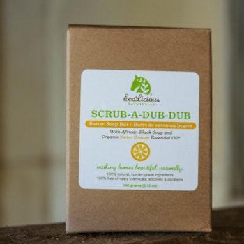 Scrub a dub dub - Butter Soap Bar 146 gram