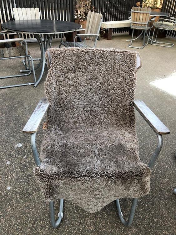 "Australiensiskt fårskinn brun-""sahara""1,5"