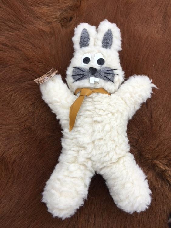 Kanin i äkta ull