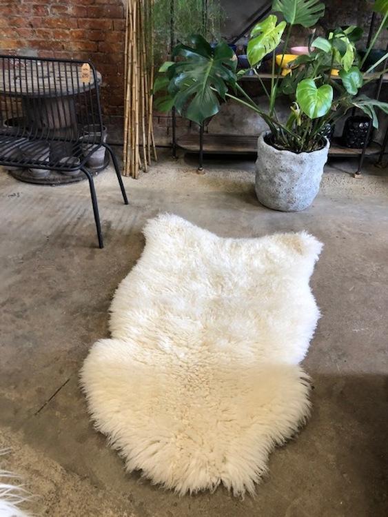 Svenskt fårskinn-vit--130x90 cm!     21