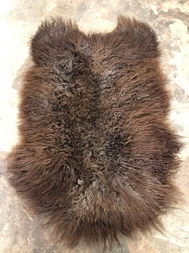 Svenskt fårskinn -brun