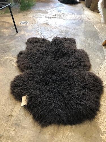 Svenskt fårskinn -mörkbrun