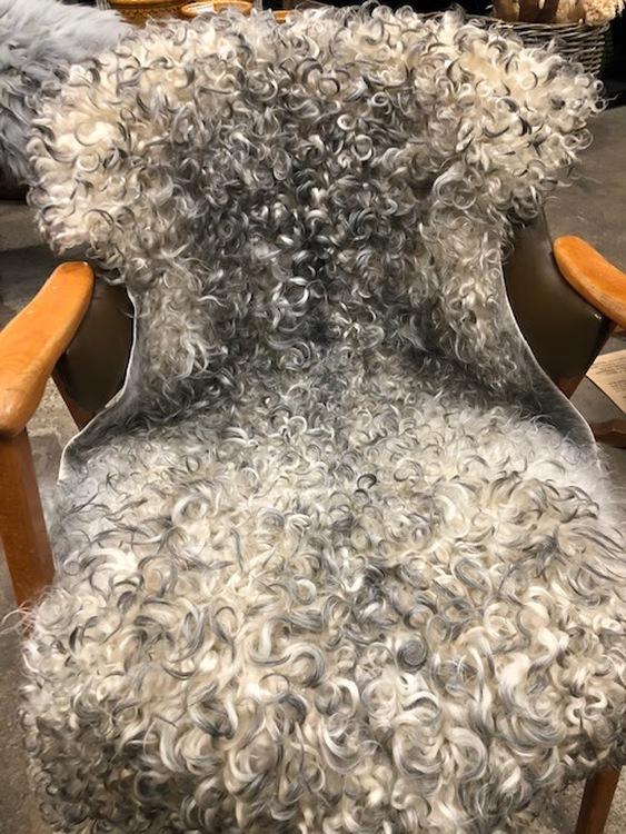 Gotländskt lockigt fårskinn 16