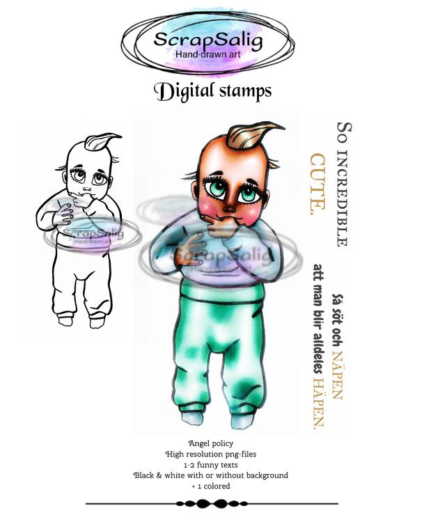 Digitala Stämplar - Pretty Pimpim, helt set