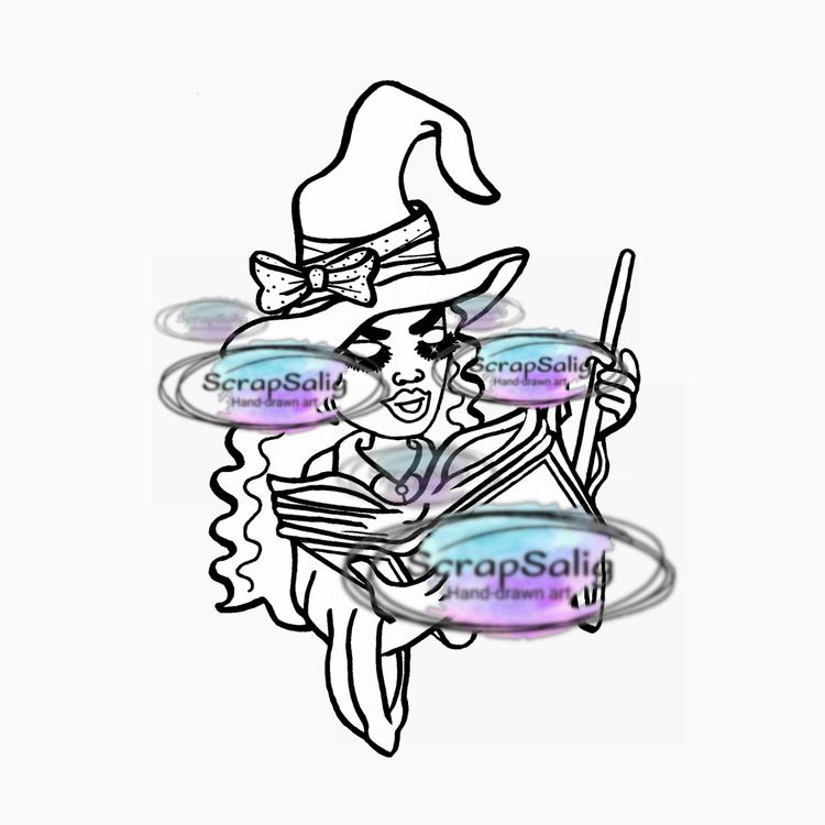 Digitala Stämplar, freebies - Enchanting Emelie, helt set