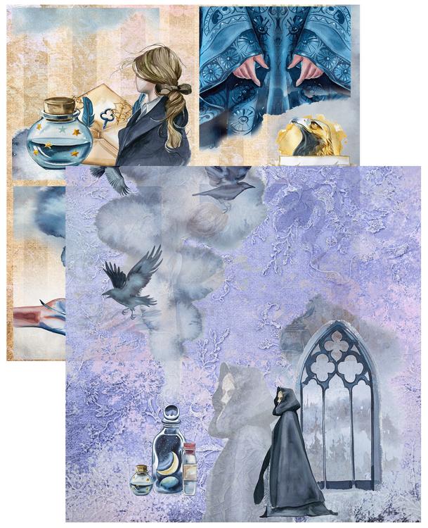 Paper Pad - Magical Vol 2, 24 stycken designpapper