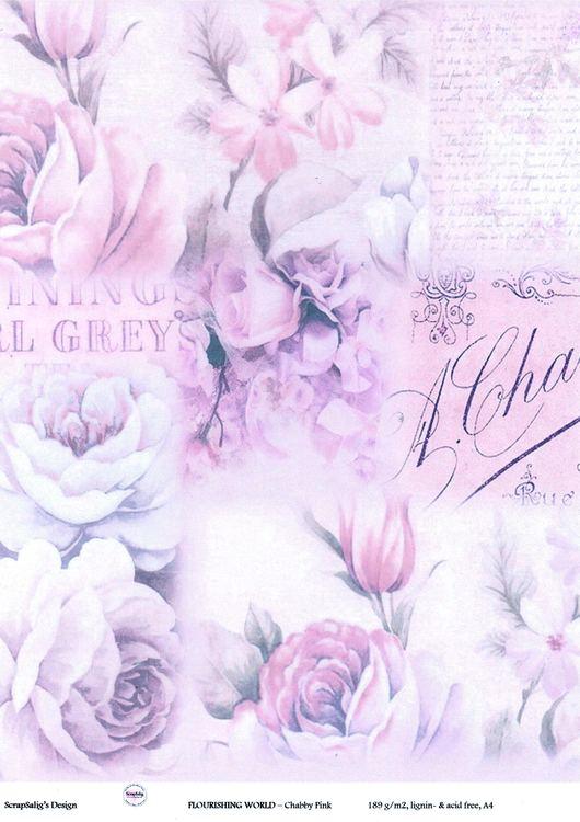 Designark - FLOURISHING WORLD, Chabby Pink