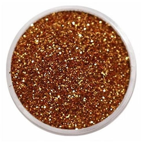 Glitter, finkornigt - Koppar, 10 g