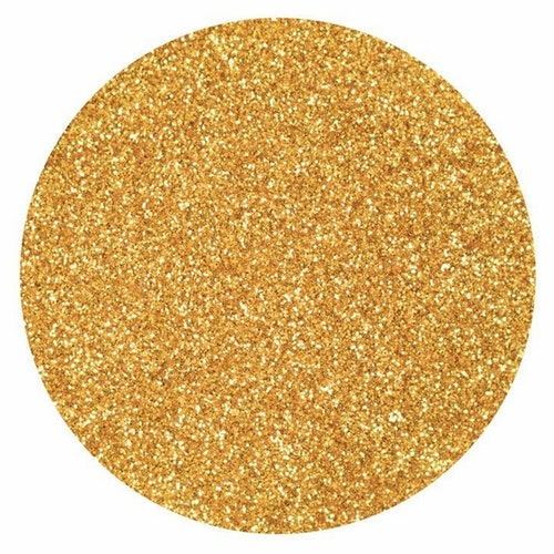 Glitter, finkornigt - Guld, 10 g
