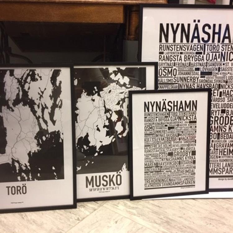 Lokala tavlor - Nynäshamn, Torö och Muskö