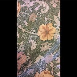 Gardinkappa - metervara - Blommor