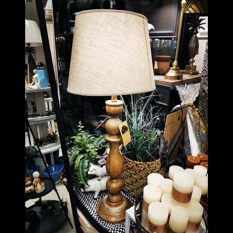Bordslampa - Mango, Brun