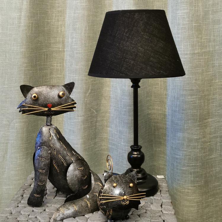 Bordslampa - Pelle, svart
