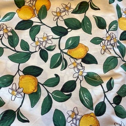 Gardinkappa - metervara - Citroner
