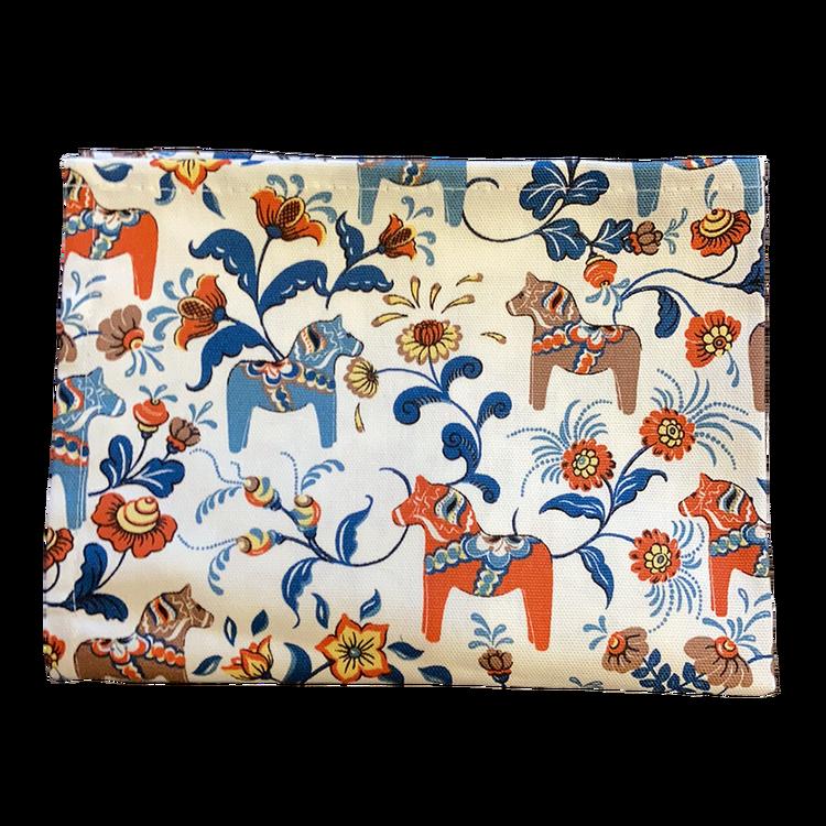 Kökshandduk - Dalahästar (fler färger)