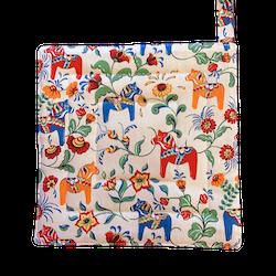 Grytlappar - Dalahästar (fler färger)