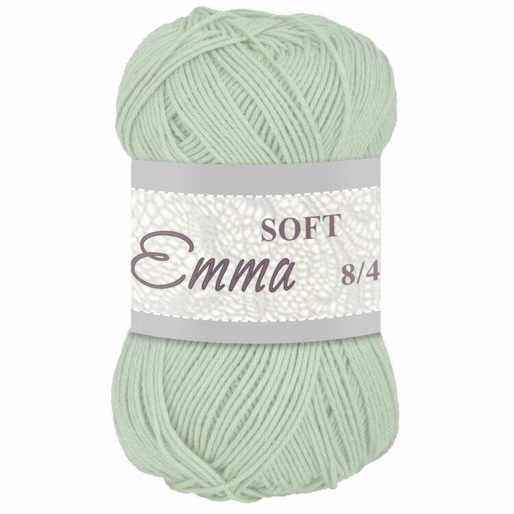 Bomullsgarn Emma soft 8/4 50g - (fler färger)