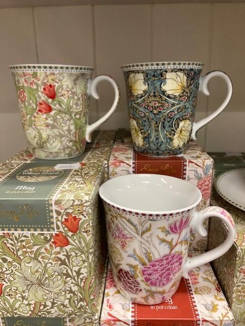 Muggar Morris för te eller kaffe