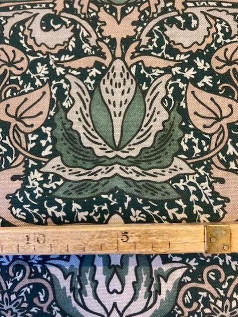 Tyg - Sarek- grön