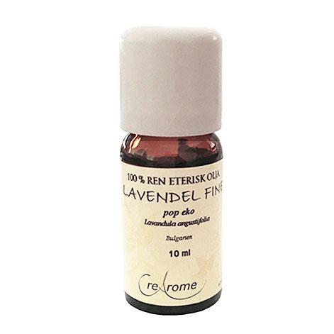Lavendel Eterisk Olja Fine Pop EKO 10 ml Aromaterapi (Crearome)