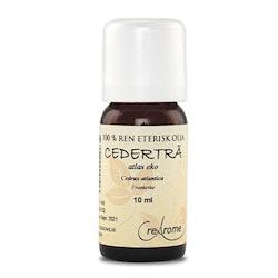 Cederträ Eterisk Olja EKO 10 ml Aromaterapi (Crearome)