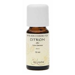 Citron Eterisk Olja EKO 10 ml Aromaterapi (Crearome)