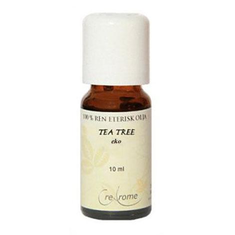 Tea Tree Eterisk Olja EKO 10 ml Aromaterapi (Crearome)