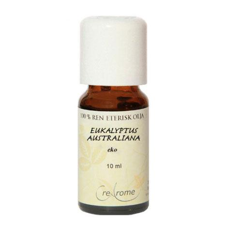 Eukalyptus Eterisk Olja EKO 10 ml Aromaterapi (Crearome)