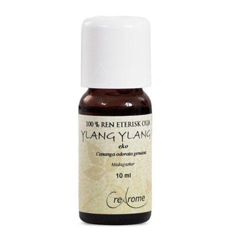 Ylang Ylang Eterisk Olja EKO 10 ml Aromaterapi (Crearome)