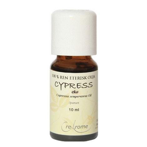 Cypress Eterisk Olja EKO 10 ml Aromaterapi (Crearome)