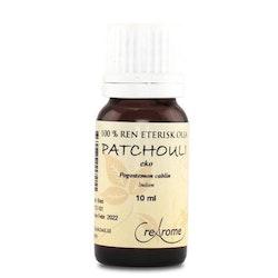 Patchouli Eterisk Olja EKO 10 ml Aromaterapi (Crearome)