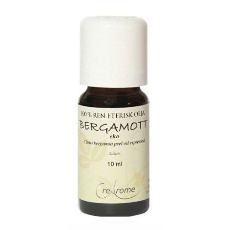 Bergamott Eterisk Olja EKO 10 ml Aromapterapi (Crearome)