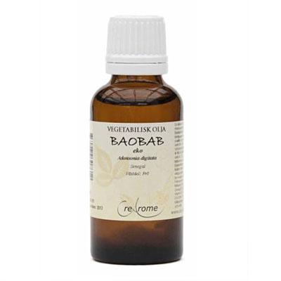 Kallpressad Baobabolja EKO 30 ml (Crearome)