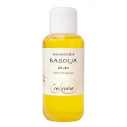 Massageolja Basolja Fet EKO 100 ml (Crearome)