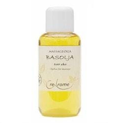 Massageolja Basolja Torr EKO 100 ml (Crearome)