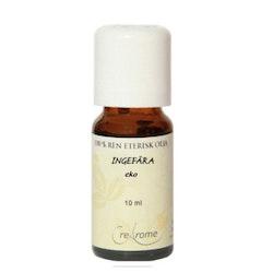 Ingefära Eterisk Olja EKO 10 ml Aromaterapi (Crearome)