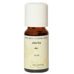 Salvia Eterisk Olja EKO 10 ml Aromaterapi (Crearome)