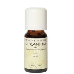 Geranium Eterisk Olja EKO 10 ml Aromaterapi (Crearome)