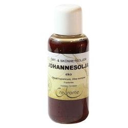 Kallpressad Johannesörtsolja EKO 100 ml (Crearome)