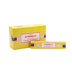 Citronella Rökelsepinnar Insektsavstötande (Satya)