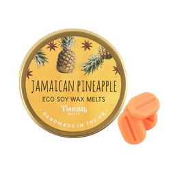 Jamaica Ananas Doftvax Sojavax Handgjort (EKO)