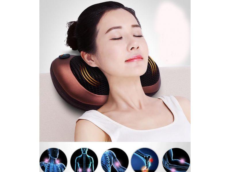 Massagekudde Ryggmassage med värme El.