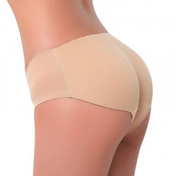 Padded Pants silikon push up trosa - Bege Storlek: L