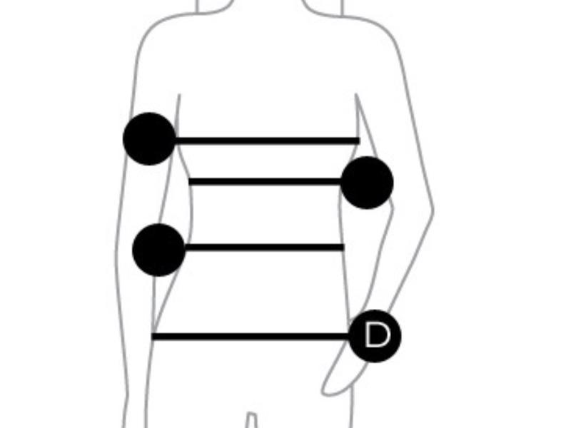 Padded Pants silikon push up trosa - Bege Storlek: L