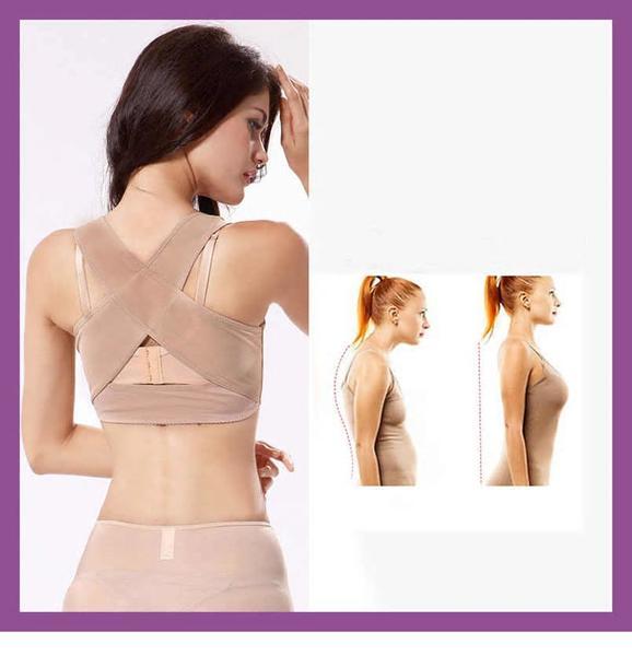 Rygg Hållning Ryggstöd Posture (Storlek: XL)
