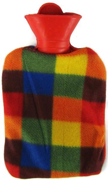 Värmeflaska fleece multi 1 l