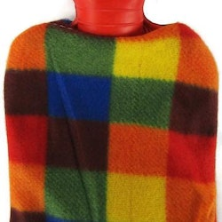 Värmeflaska fleece multi 1 l