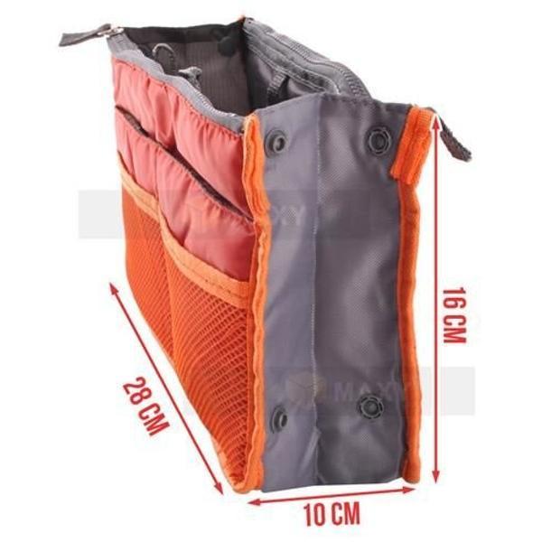 Bag in bag väskinsats necessär (Färg: Svart)