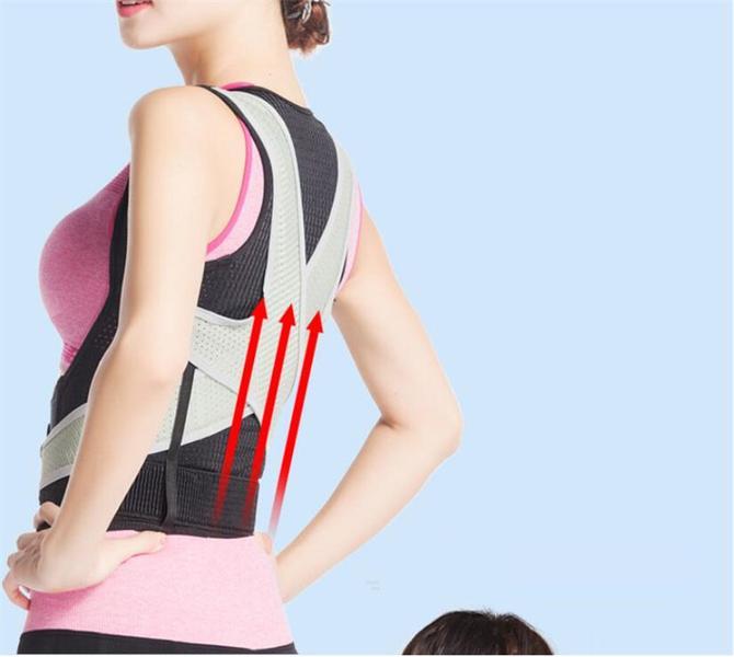 Ryggstöd hållningsväst posture för kro... (Storlek: L)