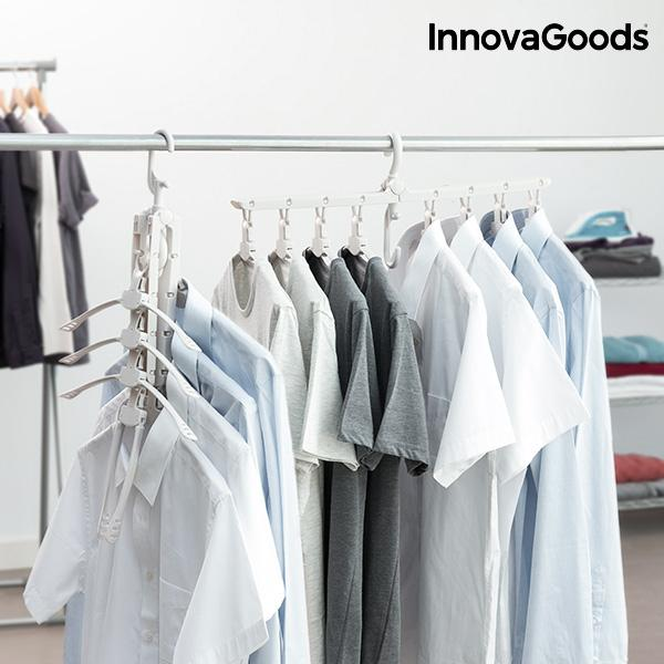Kläd hängare InnovaGoods 8-in-1 Multipurpose Hanger